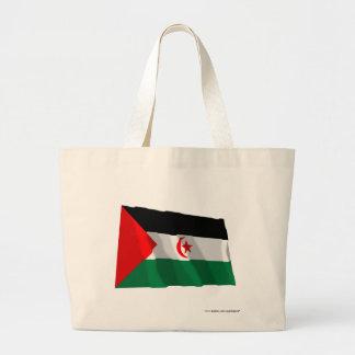Western Sahara Waving Flag Bag