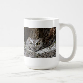 Western Screech Owl Basic White Mug