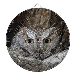Western Screech Owl Dart Board