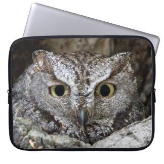 Western Screech Owl Computer Sleeves