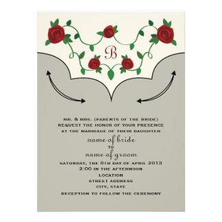Western Shirt Wedding Invite Bride s Parents