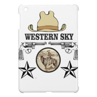western sky cowboy art case for the iPad mini