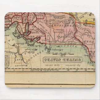 Western States, United States Mouse Pad