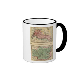 Western States, United States Coffee Mugs