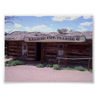 western store front poster