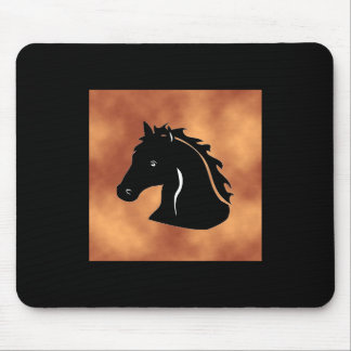 Western Style Wild Mustang ~ Mouse Pad