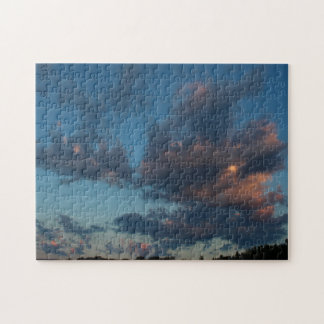 Western Sunrise Sky and Clouds Summer 2016 Jigsaw Puzzle