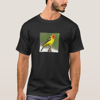 Western Tanager Art Logo T-Shirt