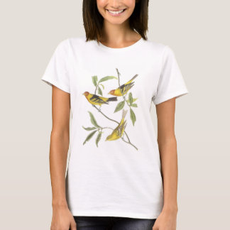Western Tanager by Audubon T-Shirt