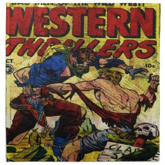 Western Thrillers Napkin