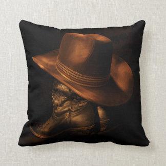 Western Throw Pillow