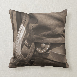 Western throw pillow for cowboys and cowgirls