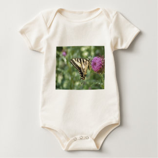 Western Tiger Swallowtail Butterfly Baby Bodysuit