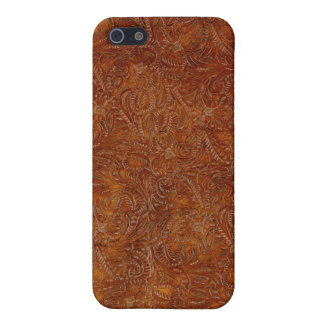 Western Tooled Leather-look Texture iPhone Case iPhone 5/5S Covers