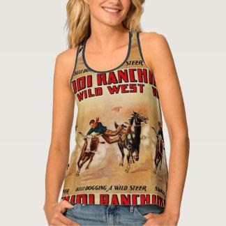 Western Top 101 Ranch Steer Wrestling