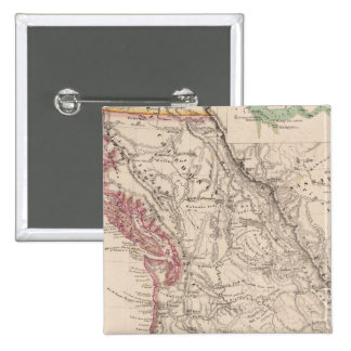Western United States 15 Cm Square Badge