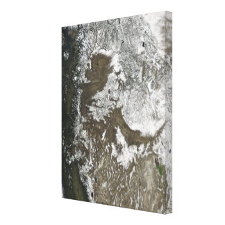Western United States Canvas Print