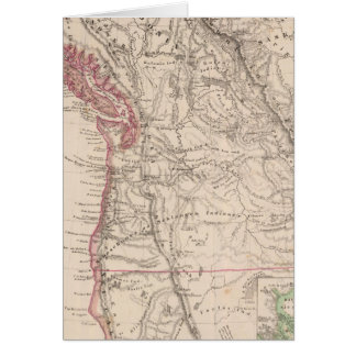 Western United States Greeting Card