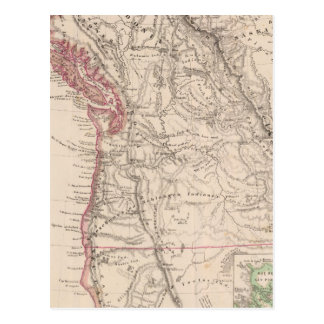 Western United States Postcard