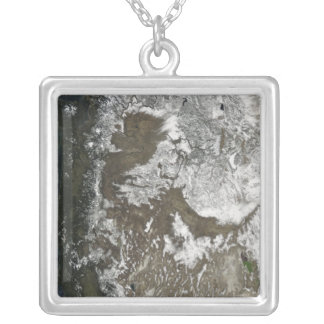 Western United States Silver Plated Necklace