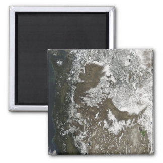 Western United States Square Magnet
