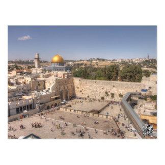Western Wall Jerusalem Postcard
