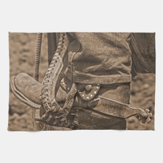 Western Wear Kitchen Towel Western Ranch Life