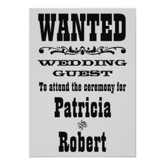 Western Wedding | Invitation
