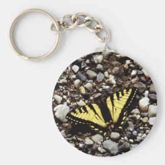 Western Yellow Swallowtail (4) Key Ring