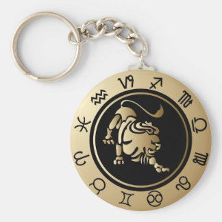 Western Zodiac - Leo Key Ring
