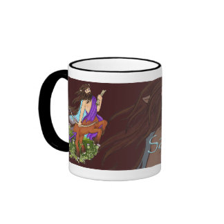 Western Zodiac - Sagittarius Ringer Mug