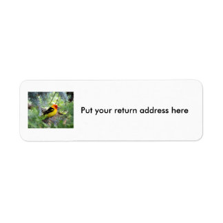 WesternTanager mailing labels