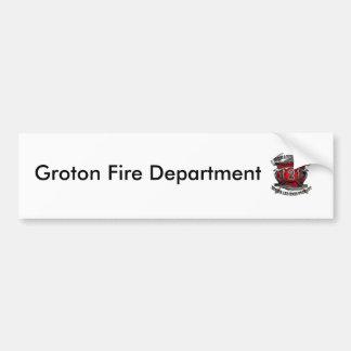 westgrotonmaltesebsteel2, Groton Fire Department Bumper Sticker