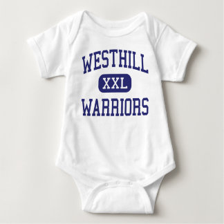 Westhill - Warriors - High - Syracuse New York Baby Bodysuit