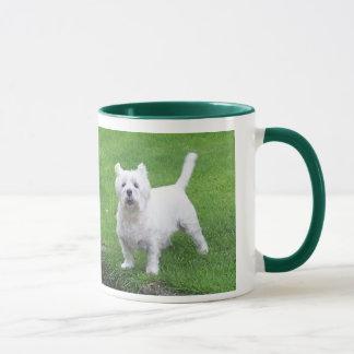 Westie 11 oz Ringer Mug Mug