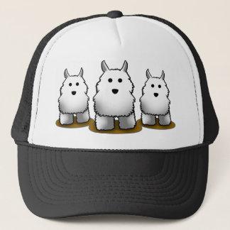 Westie Alpha Dog Trucker's Cap