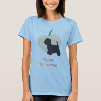 Westie and Pumpkin Happy Halloween Shirt