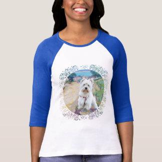 Westie at the Seashore T-Shirt