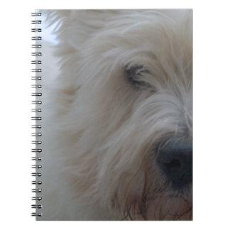 Westie Benj Notebook
