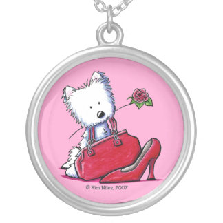 Westie Bits Of Heaven Necklace