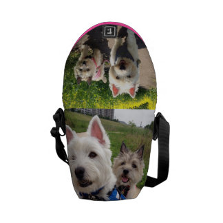 westie cairn terrier bag courier bags