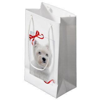 Westie Christmas Gift Bag