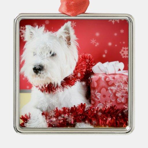 Westie Christmas Snowflake Ornament