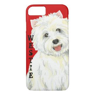 Westie Color Block iPhone 8/7 Case