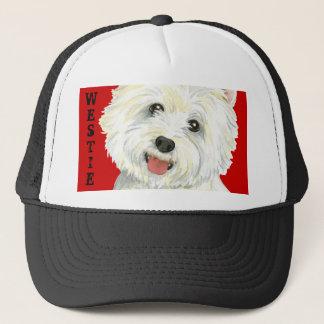 Westie Color Block Trucker Hat