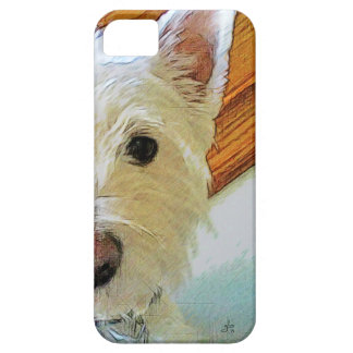 Westie Dog Face, Looking at You Case For The iPhone 5