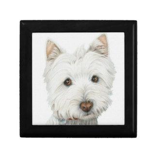 Westie Dog Gift Box