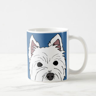 Westie Face Mug