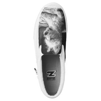 Westie Fine Art Slip On Shoes by chstudios.net