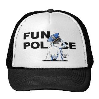 Westie FUN POLICE Hat